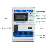 12V sistema eléctrico solar portable para los pequeños hogares, Sistema Solar, sistema de energía solar