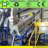 Frasco elevado do animal de estimação da produtividade que recicl a linha para recicl garrafas de água da cola com separador da etiqueta