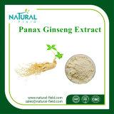 Venta caliente la muestra libre Planta Natural Extracto de Panax Extracto de raíz de ginseng