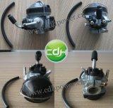 il colpo nero del kit 2 del motore della bicicletta 48cc, gas ha motorizzato la bicicletta