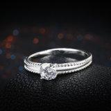 925 순은 지르콘 둥근 반지 은 반지 보석