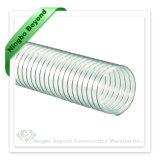 螺線形PUのワイヤーによって補強される送風管のホース中国製