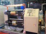 판매를 위한 다시 감기 기계를 째는 Rtfq-1200bc 자동 플레스틱 필름