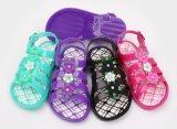 Zapatos de PVC con zapatos de jalea de decoración bowknot (kr1688)