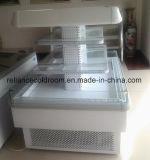 Type réfrigérateurs ouverts de tête d'étalage