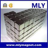 입방 구획 바람 터빈 또는 발전기 또는 모터 네오디뮴 자석 (MLY185)