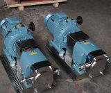 Lobe de la pompe de rotor en acier inoxydable de qualité alimentaire de la pompe de chocolat liquide