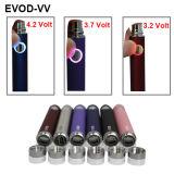 Батарея 2014 закрутки Evod VV батареи USB Evod