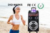 Lauter beweglicher Batterie DJ-Lautsprecher-Baß mit Bildschirm 9-Inch