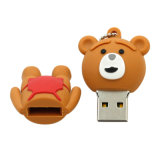 Unidad flash USB 4G Pendrive Ted Bear U disco 16g pen drive USB 2.0 de 8g Tarjeta de Memoria Flash Drive USB Flash Drive