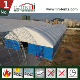 팽창식 지붕 두 배 PVC 직물 방열 창고 천막