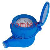 Metri ad acqua di plastica del corpo di scorrimento dell'acqua del tester della Asciutto-Manopola materiale meccanica dell'ABS