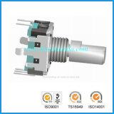 12 mm Rotary Encoder Rotary Flat usado no automóvel Sistema de volume de áudio Ajuste