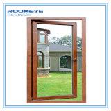 Roomeye 2017 새로운 디자인 알루미늄 입히는 목제 여닫이 창 Windows