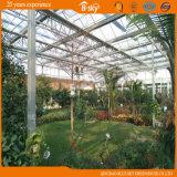 Utilisation en verre de serre chaude de Multi-Envergure en tant que sélection du jardin