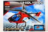 Plastikretter-Hubschrauber blockt Spielzeug für Kinder