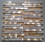 Mosaico de alumínio de ladrilhos, mosaicos de metal
