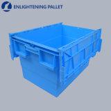 incastramento 24L e plastica di impilamento che sposta il contenitore allegato del coperchio per imballaggio