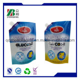 Sac stratifié en forme de plastique pour paquet de gelée avec bec verseur