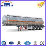 3 трейлер тележки топливозаправщика алюминиевого сплава Axle 52cbm