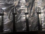 панели загородки гарнизона обеспеченностью копья черного порошка пятна 2100mm x 2400mm гофрированные трубчатые