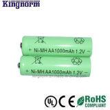 低い自己放電AA 1000mAh NiMH電池