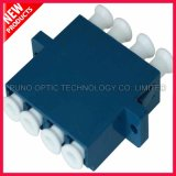 LC UPC 쿼드 싱글모드 플라스틱 광섬유 접합기