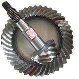 BS6098 10/41 정밀도 금속 트럭 차 기어 후방 드라이브 차축 나선형 나선형 비스듬한 기어