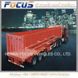 콘테이너 포좌 긴 차량, 20feet 40feet 콘테이너를 위한 수송
