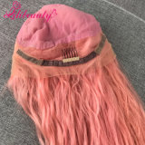 Bébé Glueless rose brésilien cheveux vierges Full Lace Wig