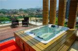 Nouveau design européen un bain à remous massage spa extérieur Aristech acrylique