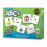Abcs - Phonik-und Vor-Leser abgleichendes Puzzlespiel-Spiel