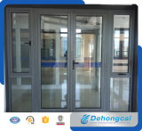 Design personalizado Combinado Casement Double Glass Aluminium Window and Door