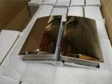 Vidrio del sitio de ducha de la aleación del cinc al clip de cristal