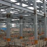 専門家によって電流を通される鋼鉄橋構造
