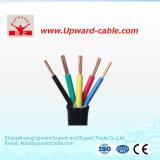 Cable de control eléctrico del cable de control del aislante del PVC