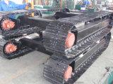 掘削機の予備品鋼鉄トラック下部構造