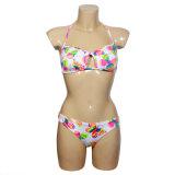 De dames vormen Bikini 80% Nylon 20% Spandex (yard-AL417)