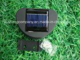 El último modelo de la lámpara solar de gran tamaño del jardín de la luz de la pared de la cerca 8LED