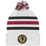 La parte superior de bola de gorro de punto blanco Custom Pom Pom Beanie Hat