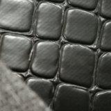 I bagagli del grano della pietra di certificazione dello SGS insaccano il cuoio di cuoio del PVC