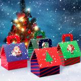 Caixa de presente de papel da caixa, caixa de presente creativa dos doces para o casamento e aniversário, caixa elegante da casa da mão