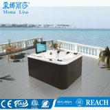 5 Persona aceptable de la función de TV de acrílico bañera de hidromasaje al aire libre (M-3304)