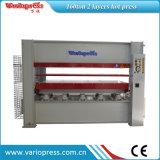 Máquina quente da imprensa do folheado hidráulico para portas