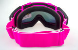 Lunetterie de sports en verre de Snowboard de Madame Customized UV 400
