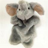 Het leuke Stuk speelgoed van de Handpoppen van het Speelgoed van de Baby Zachte Pluche Gevulde