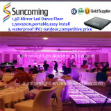 3D Optical Illusions LED Mirror Portable LED Dance Floor