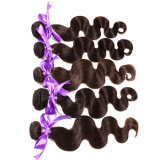 8A Grade Virgin Unprocessed Cabelo Humano Brazilian Virgin Hair Body Wave 3 Pacotes Ombre Three Tone Hair Weave T1b / 4/27 #, T1b / 4/30 #