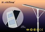 6W-120W de energía solar la energía solar Alumbrado Público con sensor de movimiento y la aplicación Teléfono