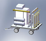 Генератор азота Psa легкой перевозки Vehicle-Mounted